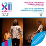 ΘΕΑΤΡΙΚΗ ΠΑΡΑΣΤΑΣΗ| «El cantar tiene sentido - Η Βενεζουέλα στη φωνή μου»